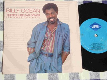 "BILLY OCEAN - THERE´LL BE SAD SONGS 7"" 1986"