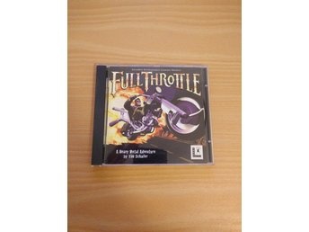 Full Throttle PC av Lucasarts