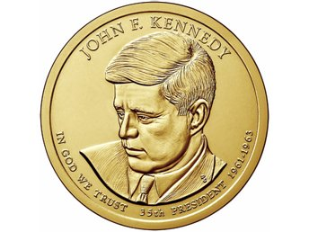 USA . 2015 President Kennedy . 1 Dollar