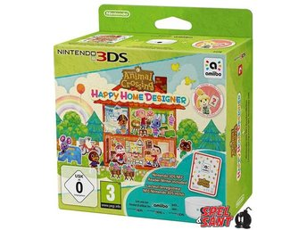 Animal Crossing Happy Home Designer (inkl. Amiibo Kort + NFC Reader/Writer)