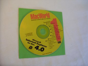 MacWorld 1998 Svensk Demo CD ROM