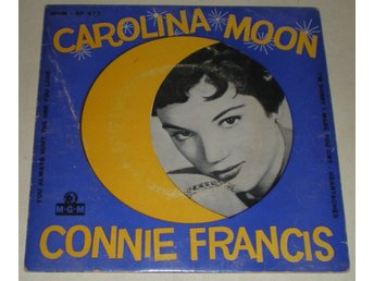 Connie Francis OMSLAG EP Carolina moon