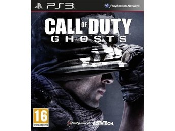Call of Duty: Ghosts (PS3) NYTT & INPLASTAT