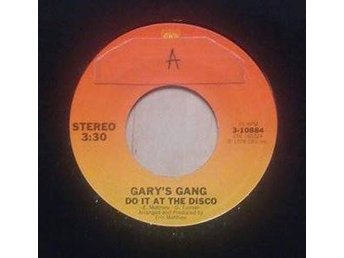 "Gary's Gang title*  Keep On Dancin' / Do It At The Disco* 7"" US"