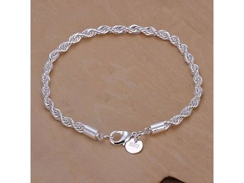 ARMBAND STERLING SILVER 925 KLAPP