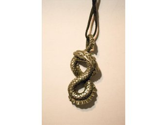 Necklace with Midgard Serpent (Jörmungandr)
