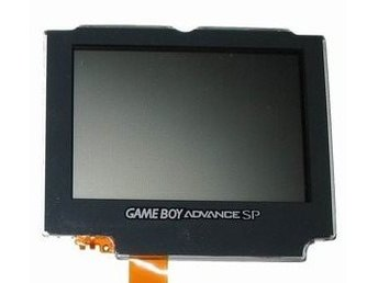 Gameboy Advance Sp Replacement Screen (Official Sharp) (Ags-001) (NY)