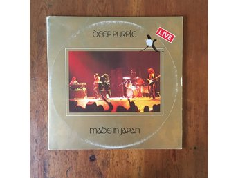 Deep Purple - Made In Japan 2xLP | heavy metal hårdrock | Italiensk press