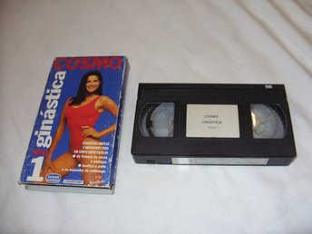 Cosmo Sportswear Ginastico Portugal utgåva Engelsk VHS PAL Work-out video