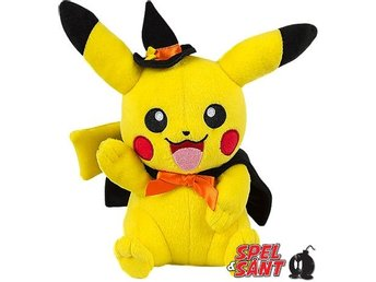 TOMY Pokemon 20cm Plush Halloween Pikachu Figur