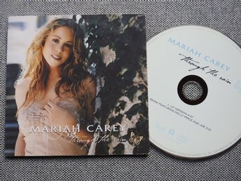 Mariah Carey - Through the Rain CD Singel (Pappfodral) Kelly Price & Joe