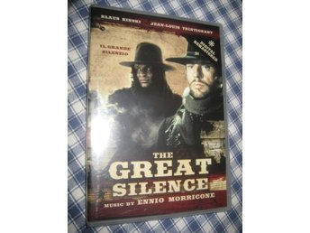 THE GREAT SILENCE - KLAUS KINSKI - JEAN LOUIS TRINTIGNANT - INPLASTAD