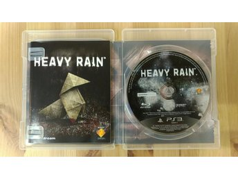 PS3 Heavy Rain TV Spel Action Äventyr Tv-spel