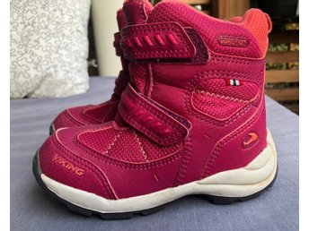 Viking Gore-Tex Winter Pink Boots Size 25