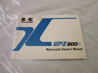 Kawasaki GPZ900R GPZ900 R 1990-91  Owners Manual NOS