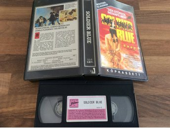 SOLDIER BLUE VHS Den största indian filmen,Peter Strauss,Candice Bergen,Pleasenc