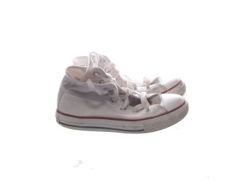 Converse, Tygskor, Strl: 30, All Star, Vit