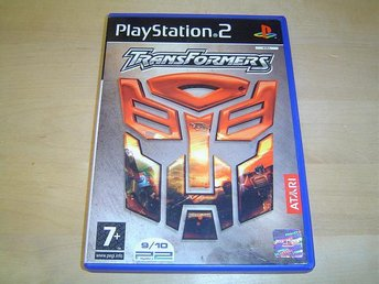 TRANSFORMERS SONY PLAYSTATION 2 PS2 PAL KOMPLETT