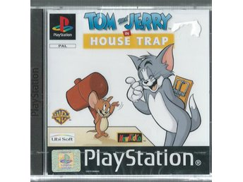TOM AND JERRY HOUSE TRAP ( INPLASTAT PS1 SPEL )