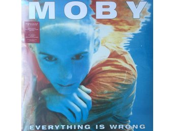 MOBY - EVERYTHING IS WRONG NY 180G LP LIMITED