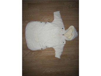 Krämvit overall fleece stl 62/68 från DASH vagn overall åkpåse babyskydd - Kalix - Krämvit overall fleece stl 62/68 från DASH vagn overall åkpåse babyskydd - Kalix