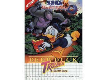 Deep Duck Trouble starring Donald Duck - Master System