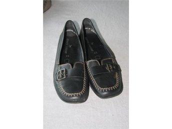 Skor lågskor promenadskor bekväma storlek 43 svarta spänne - Båstad - Skor lågskor promenadskor bekväma storlek 43 svarta spänne - Båstad