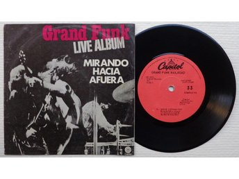 """GRAND FUNK 'Inside Looking Out' Mexican 7"""", VERSION 2 - Bröndby - GRAND FUNK 'Inside Looking Out' Mexican 7"""", VERSION 2 - Bröndby"""