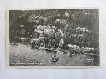 Rättvik - Persborgs pensionat från flygplan ~1927 - Segeltorp - Rättvik - Persborgs pensionat från flygplan ~1927 - Segeltorp
