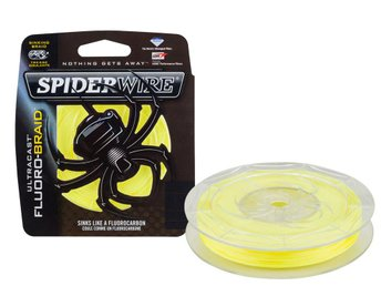 SPIDERWIRE Ultracast Fluorobraid Yellow 110m - 0,22mm - *1345566*