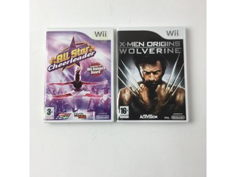 Nintendo Wii, TV-spel, Skick: Normalt, Wolverine, All Star Cheerleader