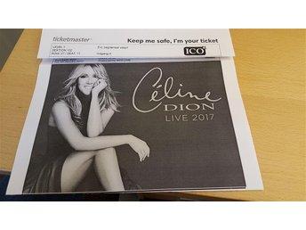2 Celine Dion biljetter / tickets 15 juni Köpenhamn Copenhagen - Helsingborg - 2 Celine Dion biljetter / tickets 15 juni Köpenhamn Copenhagen - Helsingborg