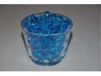 Vattenkristaller blå 5ml water beads