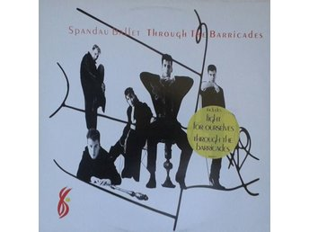 Spandau Ballet title* Through The Barricades* Pop Rock, Synth-pop LP EU