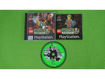Lego Rock Raiders Playstation 1 PSone ps1