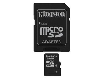 Kingston 32GB microSD Class 4 (4 Mb/s) + SD-Adapter