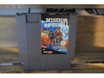 Nintendo - NES - Mission Impossible