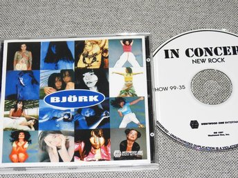 Björk - Cover Me CD - Westwood One Radio Networks WWL037 RARE