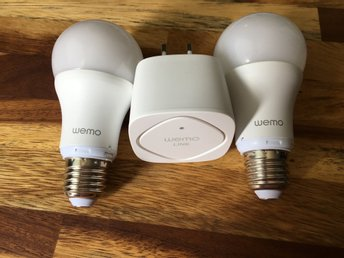Belkin WeMo LED Lighting Starter Set E27 10W 2-pack (Dimbar)