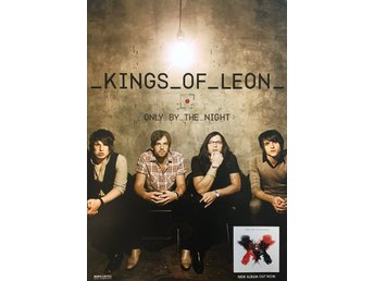 Poster Kings Of Leon Only By The Night