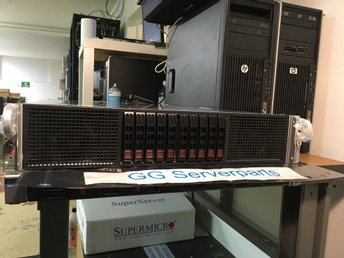 Supermicro 2xE5-2670 128GB SYS-2027GR-TRF 2U GPU Server