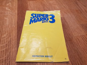 Super Mario Bros 3 SCN Manual Nintendo 8-bit NES