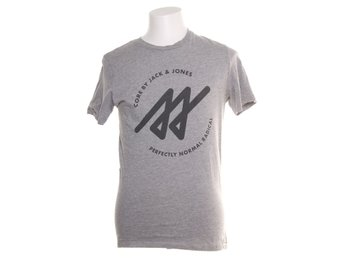 Jack & Jones Core, T-shirt, Strl: M, Grå/Svart