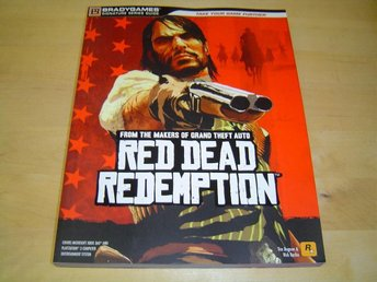 Red Dead Redemption Spelguide Walktrough Playstation 3 & Xbox 360 *NYTT*