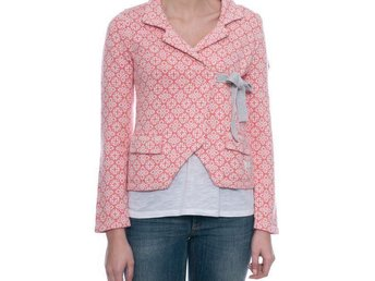 Lovely knit jacket dark peach M315-233 Stl 3 - Nyskick - Göteborg - Lovely knit jacket dark peach M315-233 Stl 3 - Nyskick - Göteborg