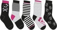 Take five 5-pack sockar nya stl 31/34 Walking