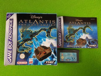 Atlantis The Lost Empire KOMPLETT PAL  Gameboy Advance