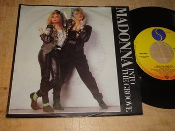 "MADONNA - INTO THE GROOVE 7"" 1985"