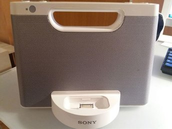 SONY dockning iPod/iPhone system