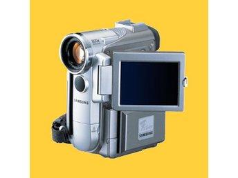 Samsung MiniDV 10x Optisk Zoom FireWire AV-Ut S-Video Memory Stick USB VP-D250i - Skultuna - Samsung MiniDV 10x Optisk Zoom FireWire AV-Ut S-Video Memory Stick USB VP-D250i - Skultuna